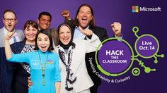 Calling all Hackers! Mark your calendars because #HacktheClassroom is back on October 14. Register now http://msft.social/3LOXTX #MicrosoftEDU
