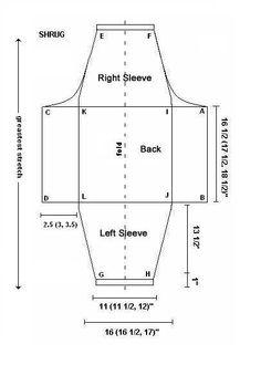 gilet sans manches    Free Shrug Pattern