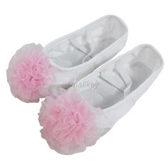 New Beauty Child Adult Canvas Shoes Ballet Dance Slipper Multi-Coloured Fashion