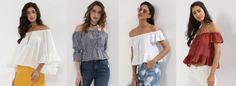 Official summer trend: Off Shoulder Tops! at https://cheyanneq21.tumblr.com/post/161581387919/official-summer-trend-off-shoulder-tops d