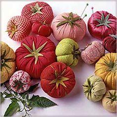Martha's Garden Tomato Pincushion Pattern plus 9 more