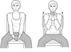 Self Range of Motion Exercises for Shoulders-Arms-Wrists-Fingers Shoulder Range Of Motion, Handicap Equipment, Shoulder Arms, Senior Fitness, Occupational Therapy, Fingers, Flexibility, Health And Wellness, Exercises