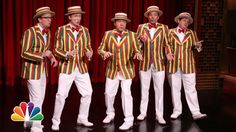 Kevin Spacey and Jimmy Fallon's Barbershop Quartet Cover the Hit Song 'Talk Dirty' by Jason Derulo