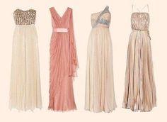 Vestidos tipo romano