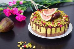 choc fig and orange cheesecake LIVE LOVE EAT RAW | Raw Cakes, Yoga, Life.