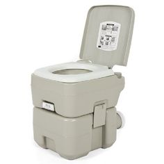 Portable Toilet Flushes Camping Hiking Hunting Hygiene Sanitation Outdoor Fishin