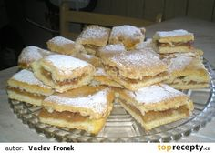 JABLKOVEJ REZY Czech Recipes, Ethnic Recipes, Desert Recipes, Apple Pie, Nutella, Baked Goods, Breakfast Recipes, Sweet Tooth, Deserts