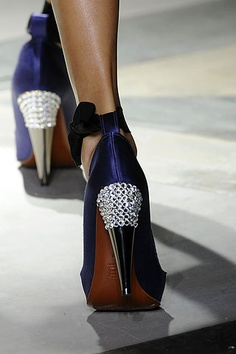 Lanvin what do my heels need? MORE CHAINMAIL!!