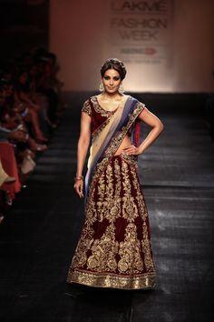 Lengha by Vikram Phadnis at Lakme Fashion Week 2014