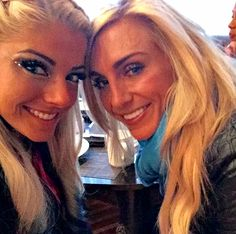 Alexa Bliss and Charlotte