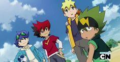 Tenkai Knights - Ceylan, Guren, Chooki, and Toxsa