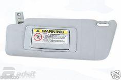 Used Mercedes Benz 2001-2006 C320 Sun Visor 2038101310 7d52 #car #truck #parts #interior #sun #visors #a2038101310