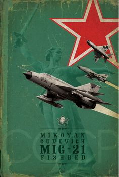 Jet fighters of the & by Domenic Bartolo, via Behance Military Jets, Military Aircraft, Russian Fighter Jets, Russian Plane, Strategic Air Command, Mig 21, F-14 Tomcat, Air Fighter, Aviation Art