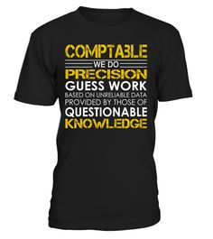 Comptable - We Do Precision Guess Work