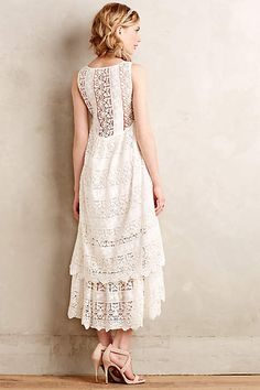 Lacefall Dress - anthropologie.com