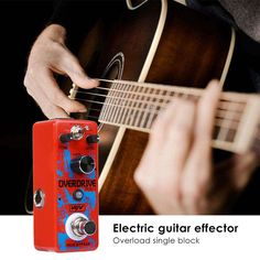 Foxgood China online store offer VSN Electric Guitar Overdirve Pedal True Bypass Guitar Effect Pedal product to sale at best price. Guitar Parts, Guitar Effects Pedals, Electric, China, Store, Storage, Shop