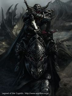 dark dragon slayer knight