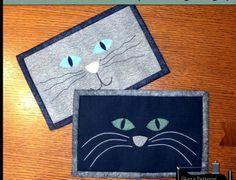 cat mug rug pattern