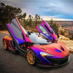 McLaren- I don't care for the wheels, but I love the paint!