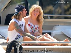 Ellie Goulding And boyfriend Dougie Poynter enjoy time together on a boat during a romantic holiday in Ibiza http://icelebz.com/events/ellie_goulding_and_boyfriend_dougie_poynter_enjoy_time_together_on_a_boat_during_a_romantic_holiday_in_ibiza/photo1.html
