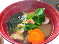 Natsumi's dish photo ほっこりお雑煮   http://snapdish.co #SnapDish #おせちグランプリ2016 #お正月
