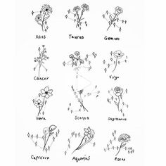 Flowers and star constellations ✨. Flowers and star constellations ✨. Horoscope Tattoos, Leo Tattoos, Star Tattoos, Cute Tattoos, Body Art Tattoos, Leo Zodiac Sign Tattoos, Tatoos, Leo Sign Tattoo, Symbols For Tattoos