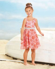 c6fb7fb6 Twirly and girly with sequins accents Handkerchief Hem Dress, Chasing  Fireflies, Flower Girls,