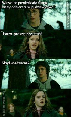 Harry trolls hermione by - meme center Harry Potter Hermione, La Saga Harry Potter, Harry Potter Jokes, James Potter, Hogwarts, Slytherin Pride, Funny Pictures, Funny Memes, Fandoms