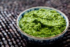 Almond & Cilantro Pesto | 24 Delicious DIY Sauces You'll Want To Put On Everything