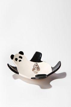 Ceramic panda dish from Urban Outfitters, via @Lauren Stark