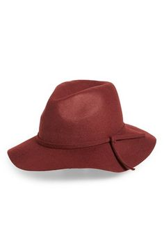 Emanuel Geraldo Emanuel Geraldo Knot Band Wool Felt Panama Hat available at   Nordstrom Felt Crown dec05d1629b8