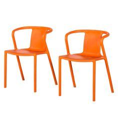 Armlehnenstuhl Sit-Up (2er-Set) - Orange, Fredriks Jetzt bestellen unter: https://moebel.ladendirekt.de/kueche-und-esszimmer/stuehle-und-hocker/armlehnstuehle/?uid=fd71d809-542b-5aa1-b0c2-eb129dc8f791&utm_source=pinterest&utm_medium=pin&utm_campaign=boards #möbel #kueche #fredriks #esszimmerstühle #esszimmer #armlehnstuehle #hocker #stuehle