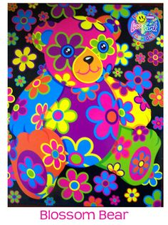 Blossom Bear Prints by Lisa Frank Photo Wall Collage, Picture Wall, Lisa Frank Stickers, 90s Childhood, Childhood Memories, Aesthetic Indie, 90s Cartoons, Indie Kids, 90s Kids