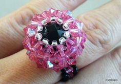 Beaded Basket Ring Jewelry Making Tutorial 30 by XQdesigns on Etsy, $5.00