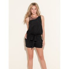 short overall/black/guess