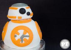 BB8 Cake: Bolo de StarWars por http://pratofundo.com