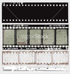 Free Vector   Film strip vector 60279 by vectorstock   Royalty Free Vector Art, Vector Graphics & Clipart   VectorStock®.com