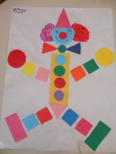 Tias da Escolinha - Ministério Infantil: O Palhaço que aprendeu o quanto é especial! Clown Crafts, Circus Crafts, Carnival Crafts, Kids Activities At Home, Paper Crafts For Kids, Diy For Kids, Arts And Crafts, Theme Carnaval, Art Drawings For Kids