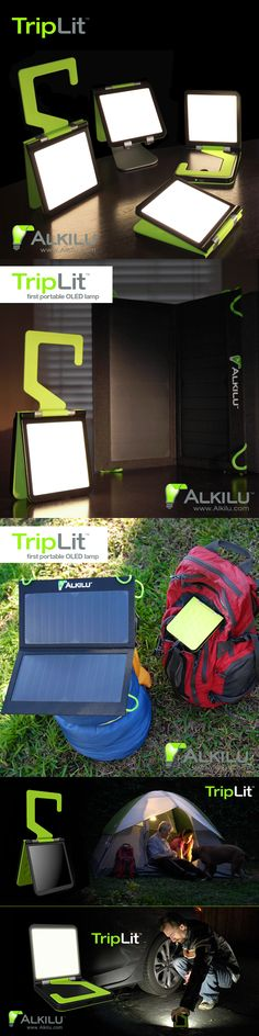 The TripLit by Alkilu equipped with an LG Chem OLED light panel has been launched on Kickstarter! Get the portable OLED lamp now at a special EARLY BIRD price! -> https://www.kickstarter.com/projects/alkilu/triplit-the-worlds-first-portable-oled-light?ref=nav_search www.lgoledlight.com #LGChem #OLED #light #alkilu #triplit