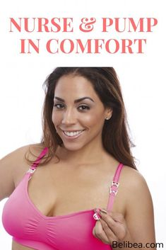 bc9a93c9e3a94 The ultimate in nursing  amp  pumping comfort! NOURISH by BeliBea bra   breastfeeding