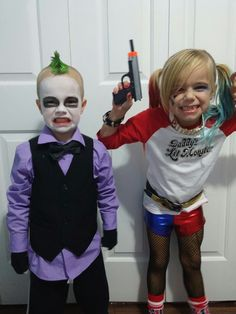 Image result for suicide squad harley quinn costume for kids harley quinn and joker kids costumes solutioingenieria Choice Image