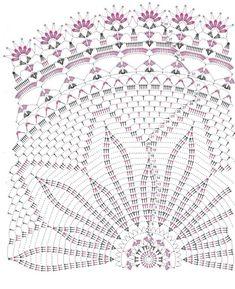 "Photo from album ""Diana filehorgolas on Yandex. Free Crochet Doily Patterns, Crochet Mat, Crochet Doily Diagram, Crochet Dollies, Crochet Circles, Crochet Mandala, Crochet Home, Thread Crochet, Crochet Flowers"