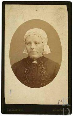 Portret van Ruurdtje Jacobs Kalma (Baarderadeel 1854 - Leeuwarden 1911) 1870-1885 Den Haag, RKD (collectie Iconografisch Bureau) #Friesland