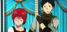 "Akagami no shirayuki hime season 2 "" Snow White with the red hair "" Obi and Shirayuki ♡"