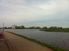 Zicht op de Elbe