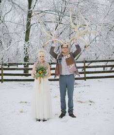 giant antlers-so cute & fun!