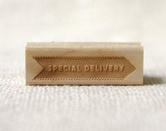 Wit & Whistle » special delivery stamp