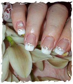 Wedding Day Nail Art