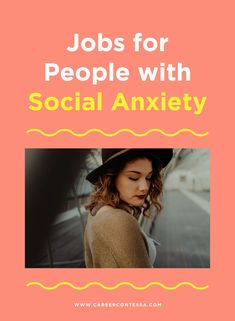 Social anxiety can feel like it completely stops you in your tracks at work. Here are jobs that work better for those with social anxiety. Job Career, Career Advice, Finding A New Job, Social Anxiety Disorder, Phone Interviews, Job Interview Tips, Career Inspiration, List Of Jobs, Best Careers