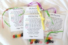 Jelly Bean Poem about Christ
